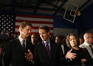 Shaun Donovan, Timothy Geithner, Sheila Bair