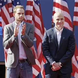Andre Agassi, Andy Roddick