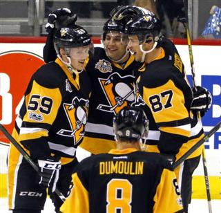 Sidney Crosby, Conor Sheary, Jake Guentzel