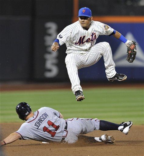 Ruben Tejada, Reed Johnson