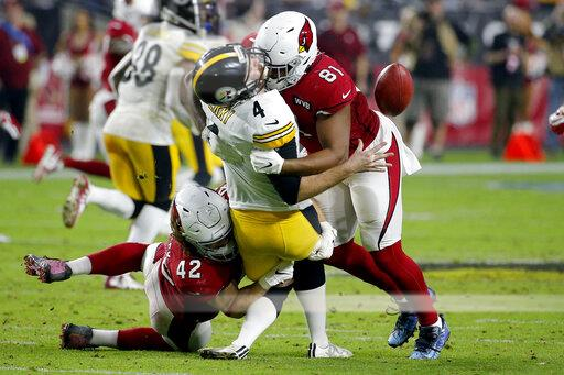 APTOPIX Steelers Cardinals Football
