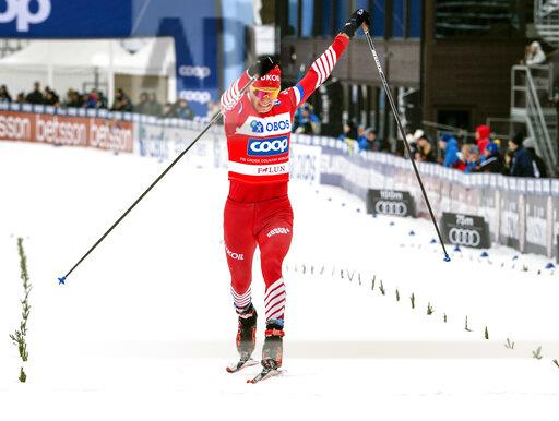 Sweden Skiing Cross Country WCup