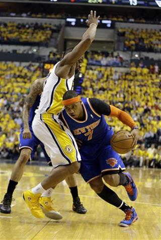 Sam Young, Carmelo Anthony