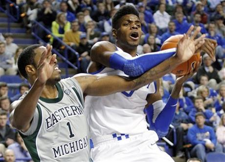 Eastern Michigan Kentucky Basketball