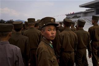 APTOPIX North Korea Military