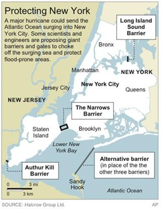 NYC SEA BARRIERS