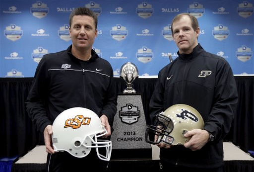 Mike Gundy, Patrick Higgins