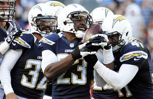Eric Weddle, Quentin Jammer, Corey Lynch