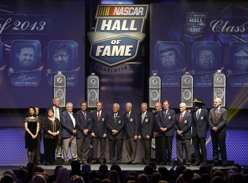 Susan Baker, Don Owens, Debbie Davis, David Pearson, Bobby Allison, Darrell Waltrip, Rusty Wallace, Junior Johnson, Glen Wood, Leonard Wood, Ned Jarrett, Bud Moore, Dale Inman, Richard Petty, Joel Thomas