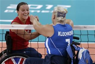 London Paralympics Vollyball