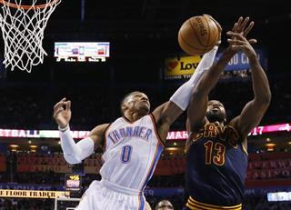 Russell Westbrook, Tristan Thompson