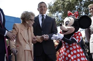 Nancy Reagan, Robert Iger