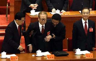Jiang Zemin, Hu Jintao, Wen Jiabao