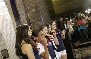 Aly Raisman, Gabby Douglas, McKayla Maroney, Kyla Ross, Jordyn Wieber