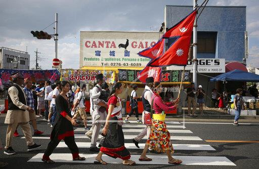 Nepalese in Japan