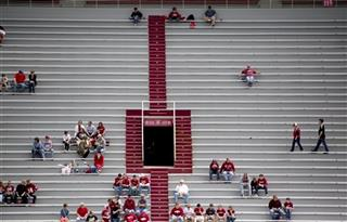 Arkansas Spring Game Football
