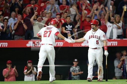 CalSports AP SPO  CA I.E. United States of America CSMAP MLB 2017: Blue Jays vs Angels APR 21