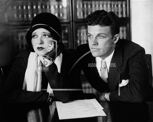 Watchf AP A  CA USA APHS440876 Clara Bow and Rex Bell