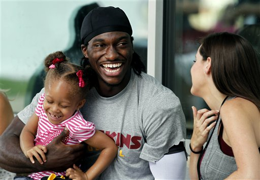 Robert Griffin III, Rebecca Liddicoat, Trinity Austin