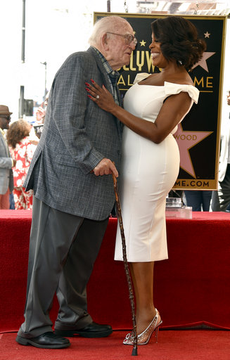 APTOPIX Niecy Nash Honored with a Star on the Hollywood Walk of Fame