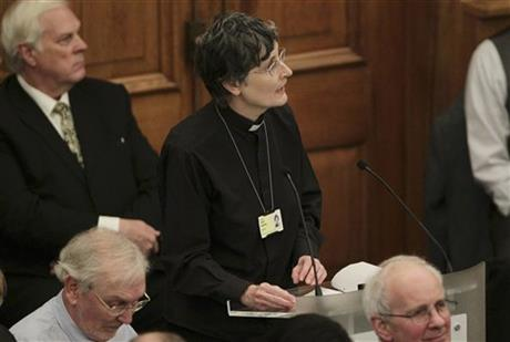 Britain Female Bishops