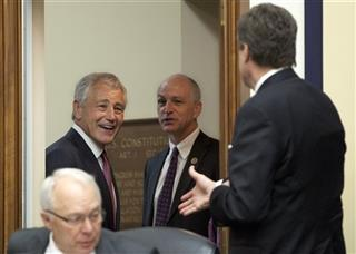 Chuck Hagel, Michael Turner, Jonh Kline, Adam Smith