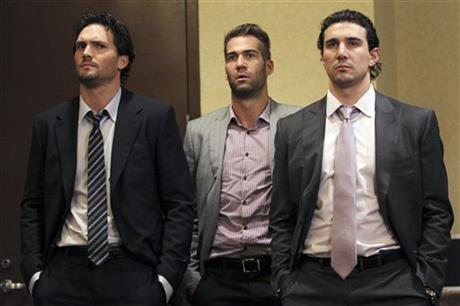 Ron Hainsey, Daniel Winnik,  Chris Campoli
