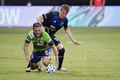 MLS Earthquakes Sounders Soccer