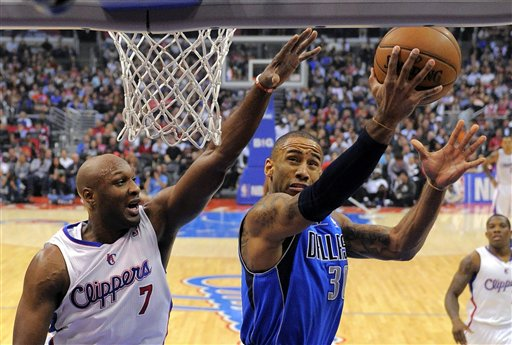 Dahntay Jones, Lamar Odom