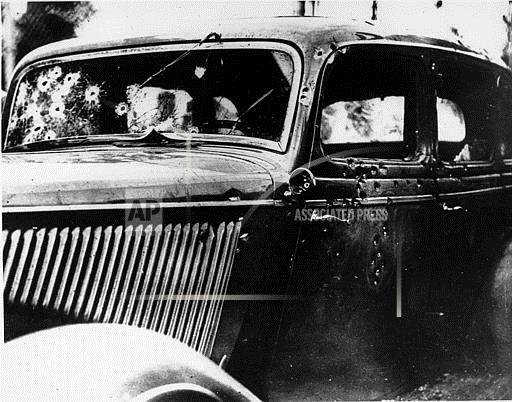 Associated Press Domestic News Louisiana United States BONNIE AND CLYDE CAR