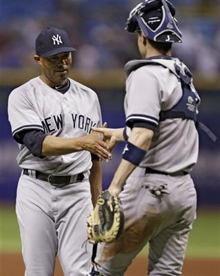 Mariano Rivera, Chris Stewart