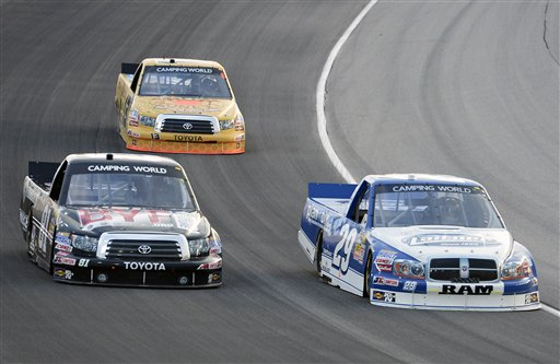 Parker Kligerman, David Starr, Johnny Sauter