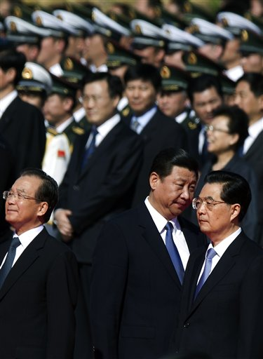 Hu Jintao, Wen Jiabao, Xi Jinping