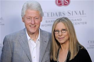 Bill Clinton, Barbra Streisand