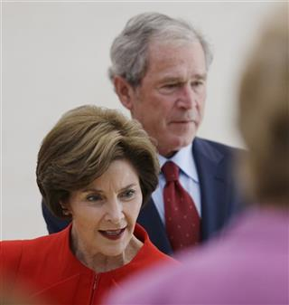 Laura Bush, George W. Bush