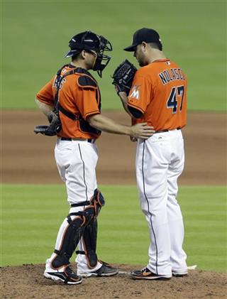 Ricky Nolasco, Jeff Mathis