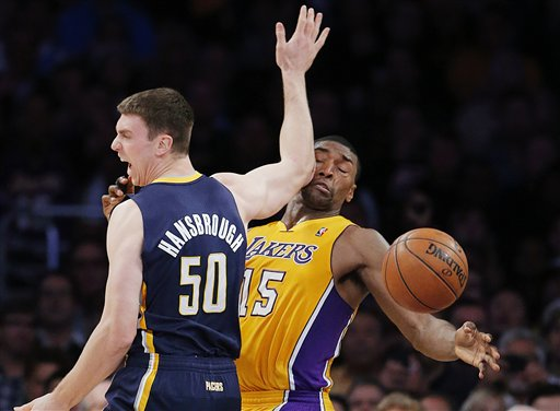 Metta World Peace, Tyler Hansbrough