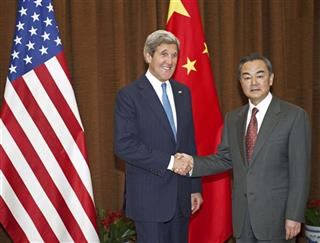 Wang Yi,  John Kerry