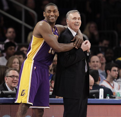 Metta World Peace, Mike D'Antoni
