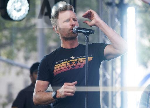 Dierks Bentley Performs on NBC's Today Show