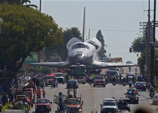 Space Shuttle Last Stop