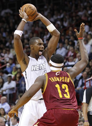 Chris Bosh, Tristan Thompson