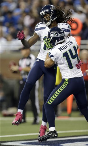Sidney Rice, Charly Martin (