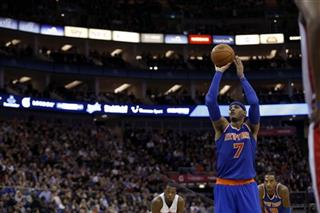 Britain Pistons Knicks Basketball 