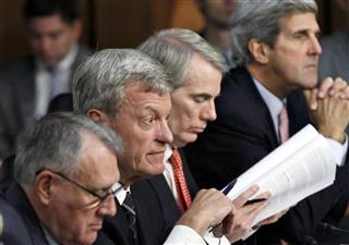 Jon Kyl, Max Baucus, Rob Portman, John Kerry