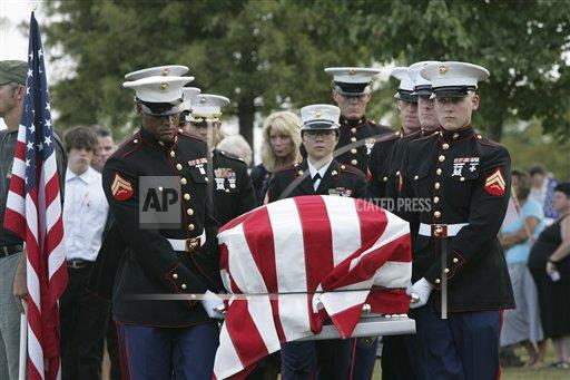 US Soldiers Funeral