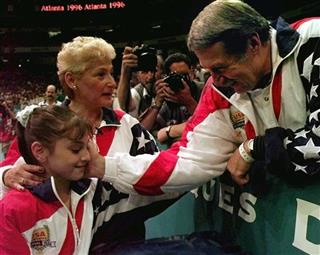 MARTHA AND BELA KAROLYI, MOCEANU
