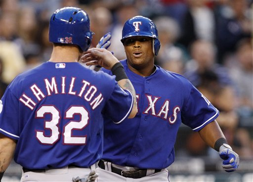 Josh Hamilton, Adrian Beltre
