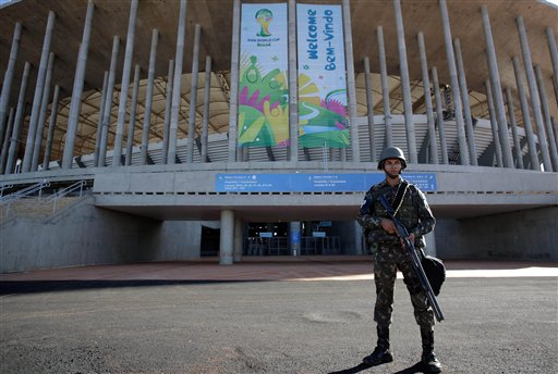 Brazil WCup Security