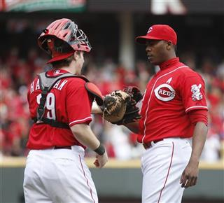 Aroldis Chapman, Ryan Hanigan